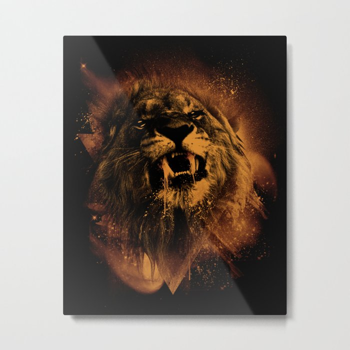 COSMIC KING Metal Print