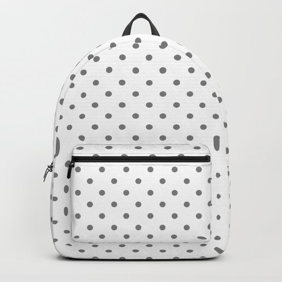 Dots (Gray/White) by 10813apparel