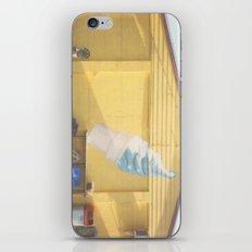 Ice Cream Cone Polaroid Print iPhone & iPod Skin