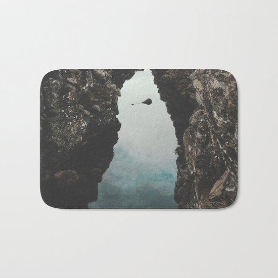 I left my heart in Iceland - landscape photography Bath Mat