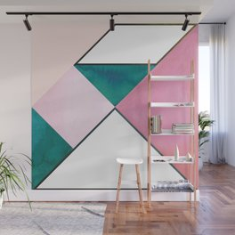 Tangram Square One Wall Mural