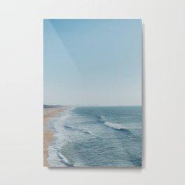 Playa de lado Metal Print