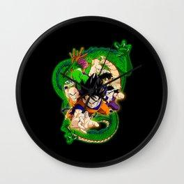 Goku and Friends Wall Clock