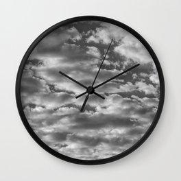 """SkyFall 2"" Sky and Cloud Art by Murray Bolesta! Wall Clock"