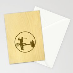 golfer Stationery Cards