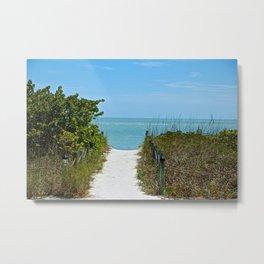 """"""" Return To The Beach """"  Metal Print"""