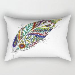 Tribal Feather Rectangular Pillow