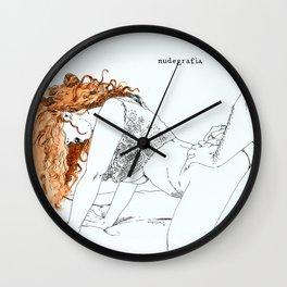 NUDEGRAFIA - 20 Wall Clock