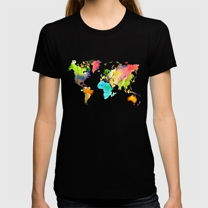 Watercolor World T-shirt