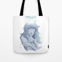 Virgo Sign - Zodiac series by OccultArt Tote Bag