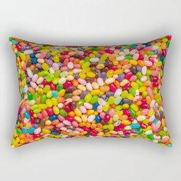 Gourmet Jelly Bean Pattern  Rectangular Pillow