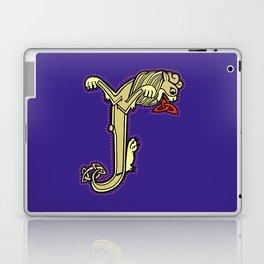 Celtic Lion Letter J 2018 Laptop & iPad Skin
