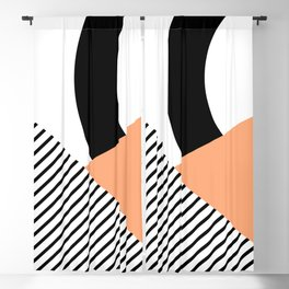Geometrical shapes 2 Blackout Curtain