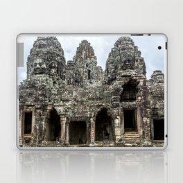 Bayon Temple, Angkor Thom, Cambodia Laptop & iPad Skin