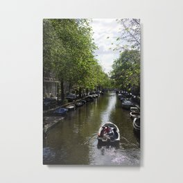 Canals | Amsterdam, NL Metal Print