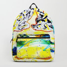 """""""Yes we Can!""""            by Kay Lipton Backpack"""