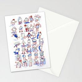 Buncha Folks Alternate Stationery Cards