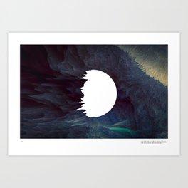 A new world Art Print