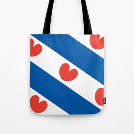 Flag of Friesland Tote Bag