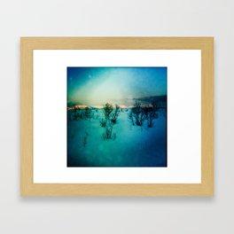 UP NORTH Framed Art Print