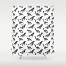 Capitalsaurus + Capitalsaurus Rex Shower Curtain
