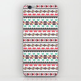 Traditional Embroidery iPhone Skin