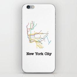 New York City Subway iPhone Skin