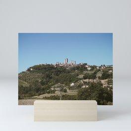 San Gimignano Mini Art Print