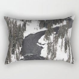 Yellowstone National Park - Lewis River Rectangular Pillow