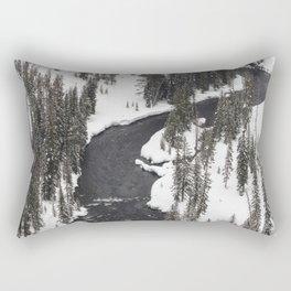 Yellowstone National Park - Lewis River Rectangular Pillow