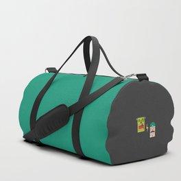 Chasing Viktor Frankenstein (Patterns Please) Duffle Bag