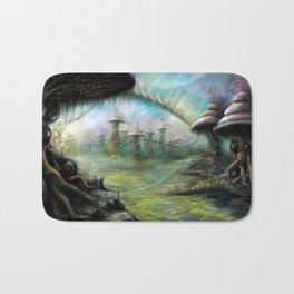 Alien Landscape Bath Mat