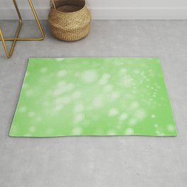 Lime Green Ombre Rug