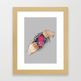 My love Framed Art Print