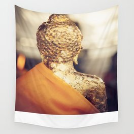 Buddha the other side  Wall Tapestry