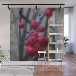 Late Winterberry Wall Mural