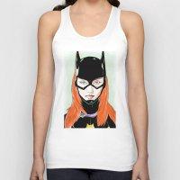 batgirl Tank Tops featuring Batgirl by Matthew Bartlett