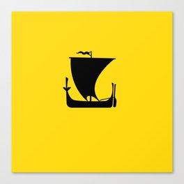 flag of nordland Canvas Print