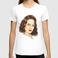 peggy carter T-shirts featuring Agent Carter by Olivia Nicholls-Bates