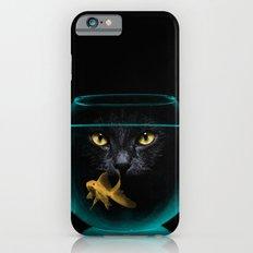 Black Cat Goldfish II iPhone 6s Slim Case