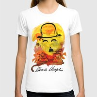 charlie chaplin T-shirts featuring Charlie Chaplin by Genco Demirer
