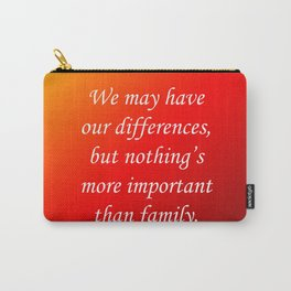 Our Differences Carry-All Pouch