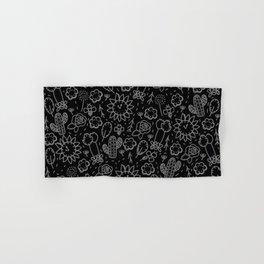 Time Garden Sketch Hand & Bath Towel