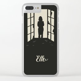 Elle I Clear iPhone Case
