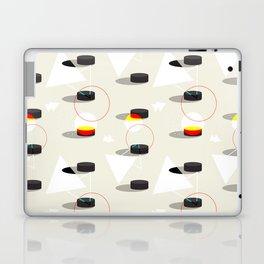 Pucks & Geometries #society6 #hockey #sport Laptop & iPad Skin