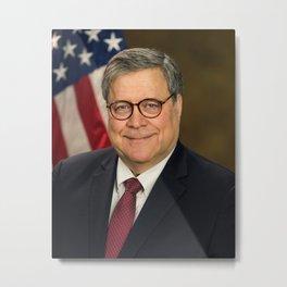 Attorney General William Barr Official Portrait Metal Print