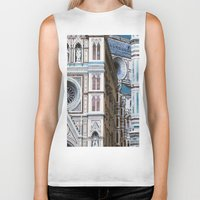 florence Biker Tanks featuring Florence  by Chernyshova Daryna