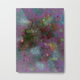 Flowers allday Metal Print