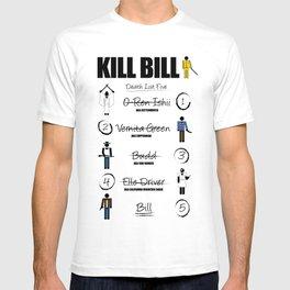 Death List Five T-shirt