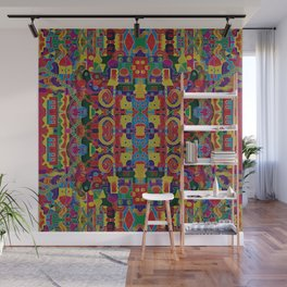 Cloisonne Color Joy Wall Mural
